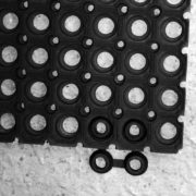 16mm Light Honeycomb anti-fatigue mat – Black