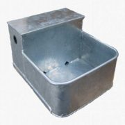 Automatic water drinking trough