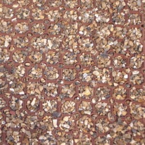 16mm Light Honeycomb mat - gravel