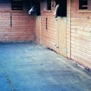 Fieldguard M8 Rubber Mat Stable yard