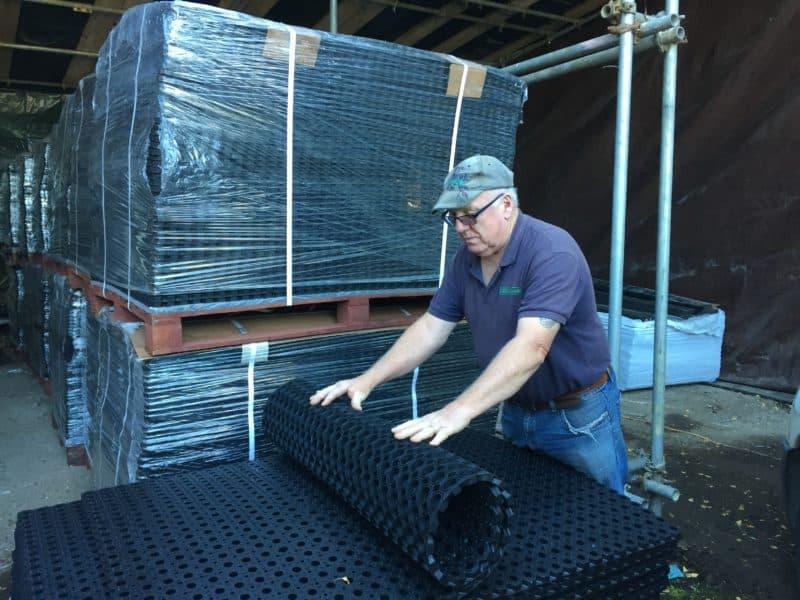 Fieldguard Rubber Matting deliveries