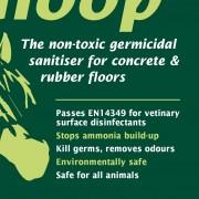 green gloop label detail