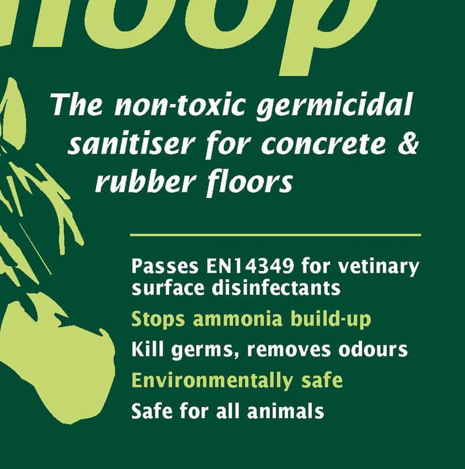 green gloop label