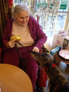 Fieldguard: Pets as Therapy visit
