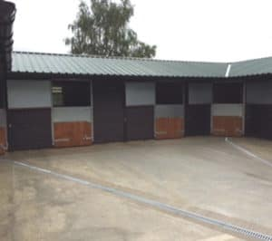 New stables at the Unicorn Trust