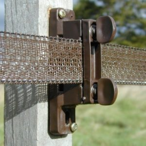 Electric fence Insulators and tensioners