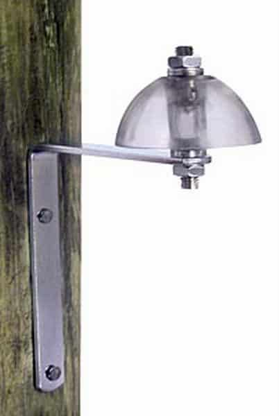 electric fence lightening diverter