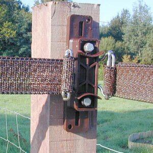 electric tape corner tensioner