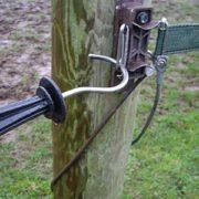 electric tape gate closed