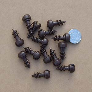 Spare insulator cap screws