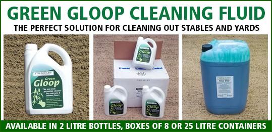 Green Gloop Cleaning Fluid