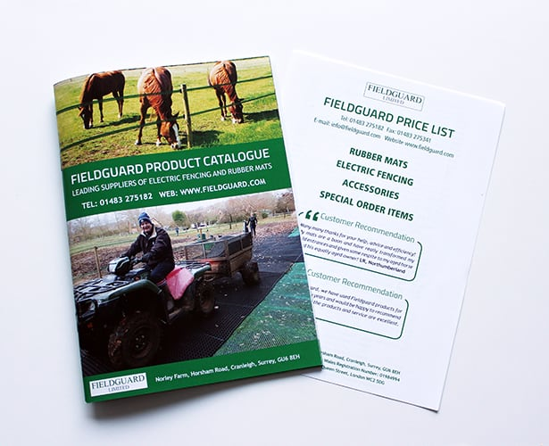 Fieldguard Catalogue and Price List