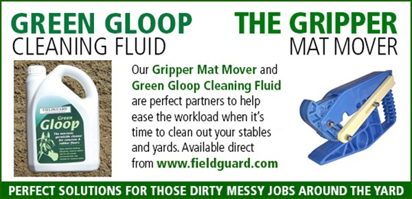 Green Gloop and Gripper Mat Mover from Fieldguard