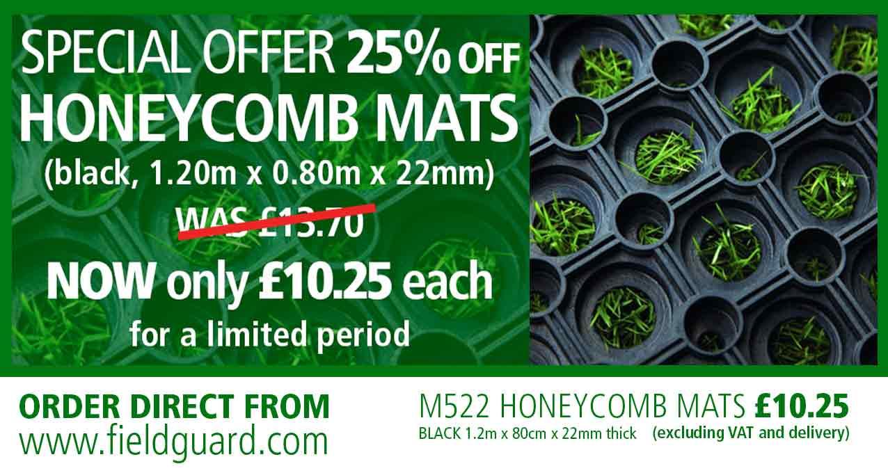 Honeycomb Mats Special Offer 25% off