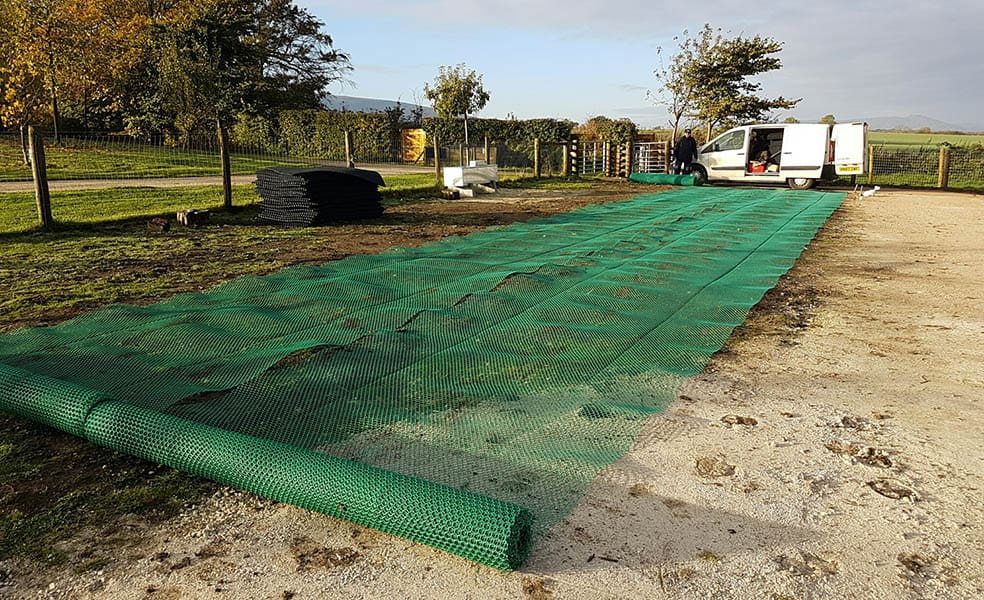 Ground Stabilisation Mesh M9